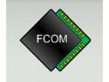 Логотип Fcom Company, торговая фирма