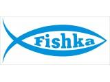 "Логотип ""FISHKA"" - пилинг рыбками гарра руфа"